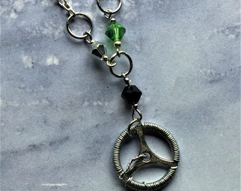 Driver Picks the Music - Supernatural Impala Dean Winchester Inspired Wire Wrapped Necklace Fan Art