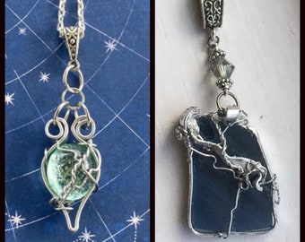 Dean's Perky Nipples - Supernatural Inspired Wire Wrapped Necklace Dean Winchester