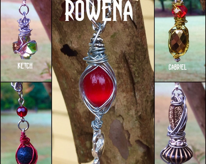Supernatural Jewelry - The Rowena Hookup Necklace - Wire Wrapped Necklace