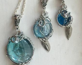 Castiel's Grace Necklace Supernatural Castiel Cas Misha Collins Supernatural Fan Art Angel Wings
