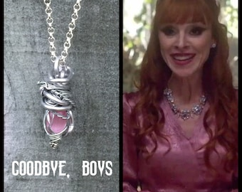 Goodbye Boys  - Supernatural Rowena Sam Winchester Dean Winchester Inspired Wire Wrapped Necklace