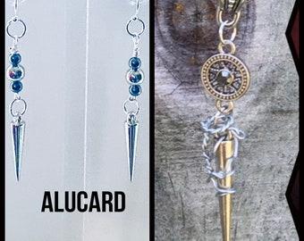 Castlevania Jewelry - Alucard Earrings- Castlevania Inspired Earrings
