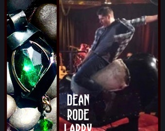 Supernatural - Dean Rode Larry - Wire Wrapped Necklace Dean Winchester Jensen Ackles