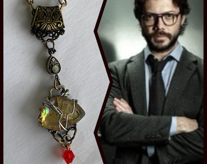 Money Heist Jewelry - The Professor - La Casa De Papel Money Heist Necklace