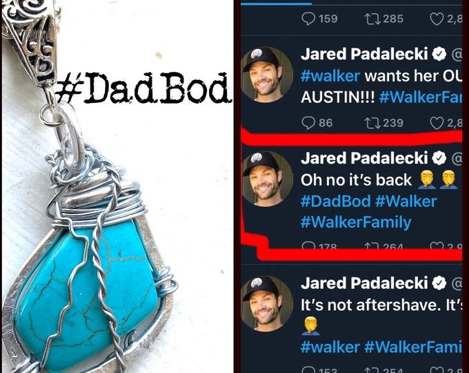 Walker Jewelry - DadBod - Walker Necklace Wire Wrapped Necklace Jared Padalecki Cordell Walker
