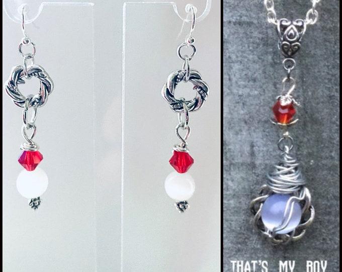 Supernatural Jewelry - - That's My Boy - Rowena Earrings
