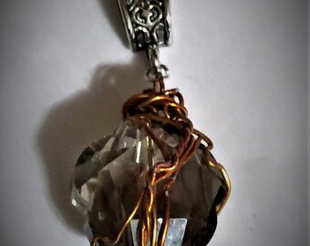 He Was Born to Do This - Sam Winchester Mary Winchester Supernatural Wire Wrapped Necklace Fan Art