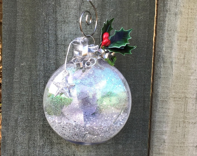 Featured listing image: Supernatural Inspired Wire Wrapped Holiday Ornament - Sam Winchester Dean Winchester Castiel