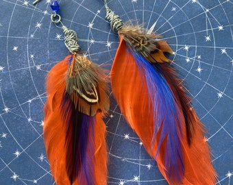 Gabriel Inspired Feather Earrings Supernatural