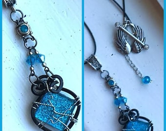 I'll Just Wait Here, Then - Supernatural Inspired Wire Wrapped Necklace