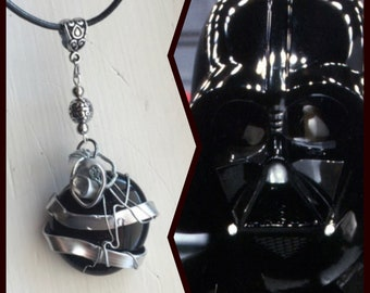 Star Wars Jewelry - You Don't Know the Power of the Dark Side - Darth Vader Necklace Darth Vader Pendant Star Wars