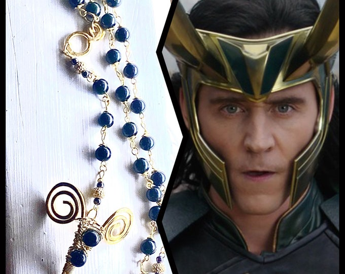 Loki Rosary - Green Goldstone Rosary - Green Sandstone Rosary - Wire Wrapped Rosary