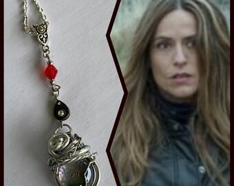 Money Heist Jewelry - Lisbon Necklace - La Casa De Papel Necklace - Wire Wrapped Pendant