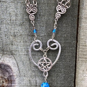 Supernatural Season 15 Rowena Queen of Hell Wire Wrapped Necklace Ready to Ship