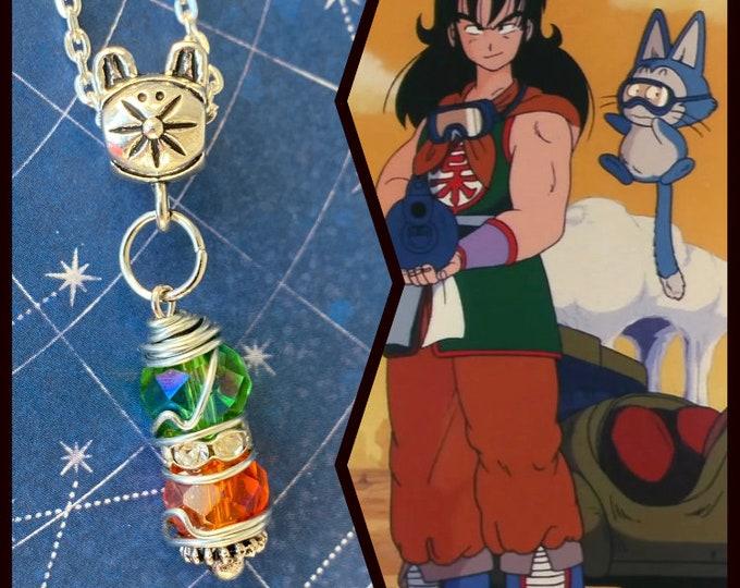 Dragon Ball Jewelry - Yamcha Necklace - Dragon Ball Pendant