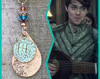 The Witcher Jewelry -  Toss a Coin to Your Witcher Necklace - Wire Wrapped Necklace