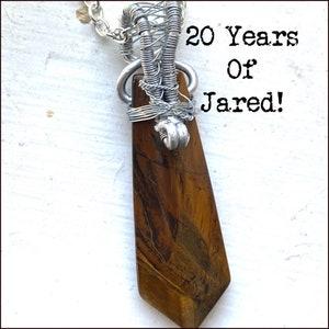 Walker DadBod Walker Inspired Wire Wrapped Necklace Jared Padalecki Cordell Walker
