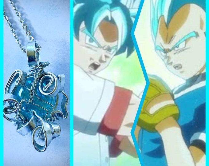 Dragon Ball Jewelry - Goku and Vegeta Necklace - Best Baseball Game Ever - Dragon Ball Super Pendant