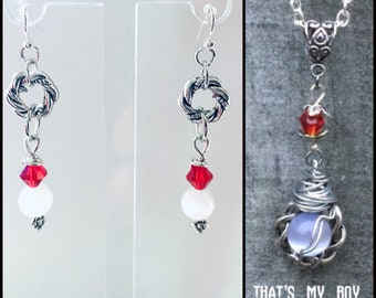 Supernatural Jewelry - That's My Boy - Rowena Earrings