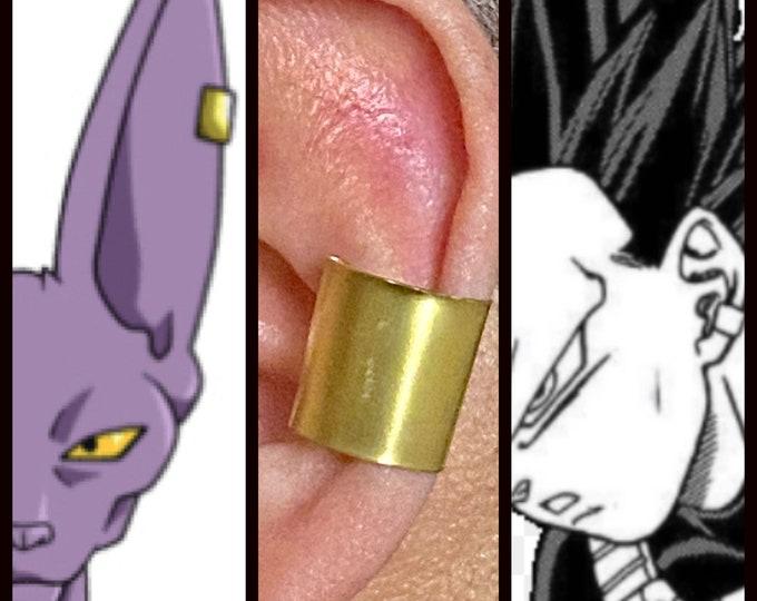 Dragon Ball Jewelry - Destroyer Ear Cuff - Vegeta and Beerus Ear Cuff