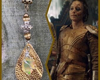 The Witcher Jewelry - The Lioness of Cintra Necklace Calanthe Necklace Wire Wrapped Necklace The Witcher Jodhi May