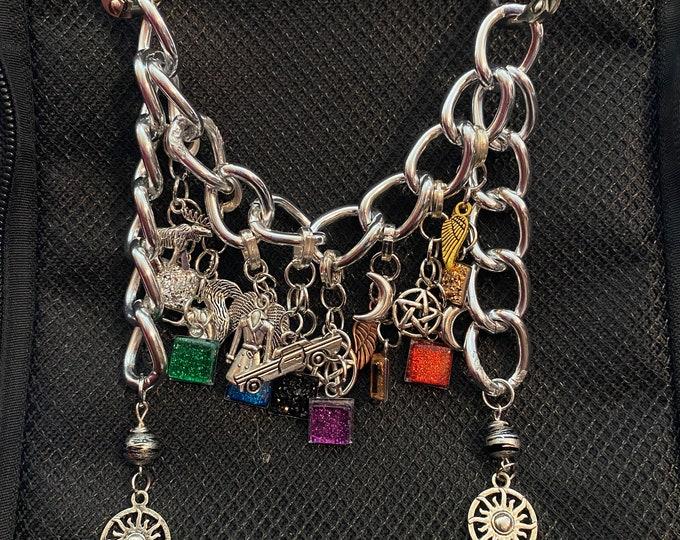 Supernatural ITA Bag Accessories - Supernatural Charms and Chain for ITA Bag Decoration