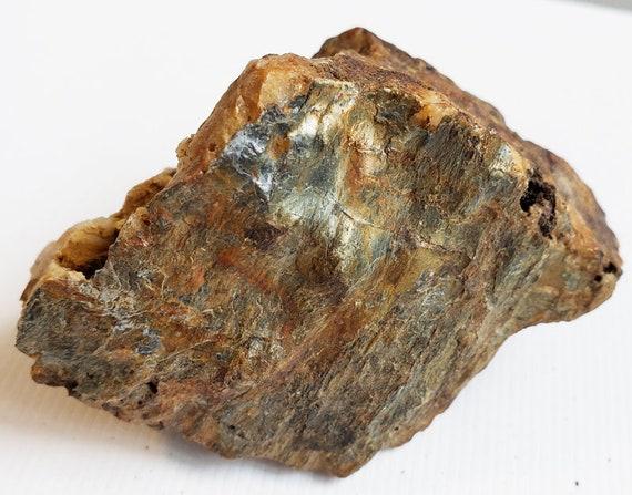 Quartz crystal Rock nugget stone gemstone Montana 9 oz raw snow quartz minerals healing feng shui natural decor