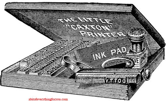 stamp ink pad kit printable art clipart png download digital vintage image graphics objects still life artwork