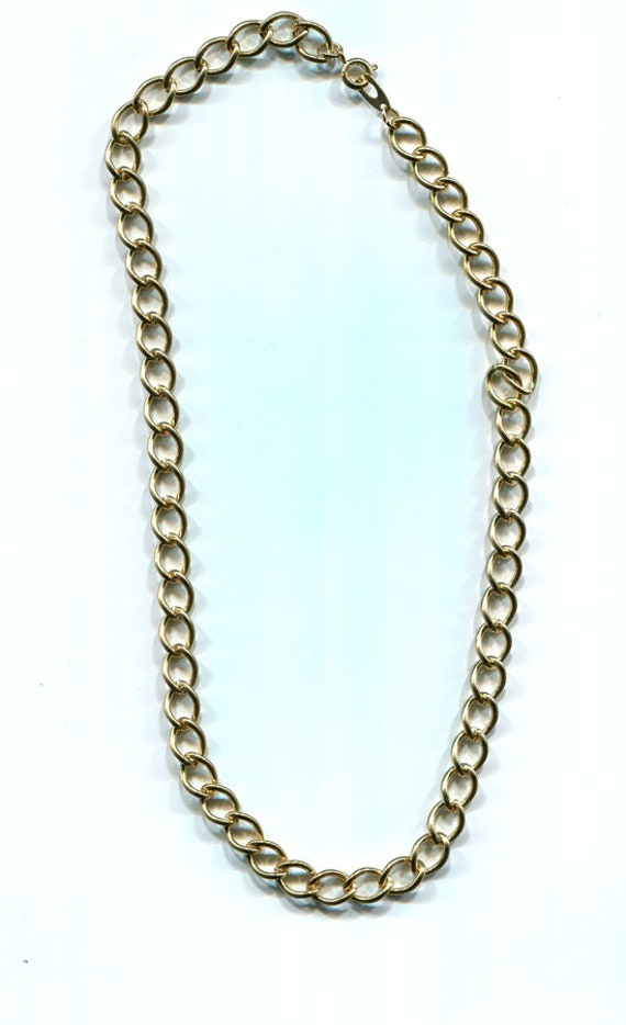gold chain necklace 10mm link curb unisex jewelry gold chains mens womens jewelry making