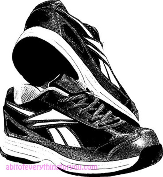 tennis shoe art clipart png download digital shoes image graphics printable fashion diy crafts artwork