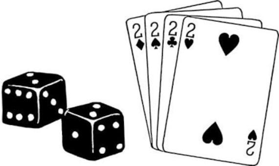 dice and cards poker game clipart png jpg downloadable printable art die cuts digital download gambling image graphics stamp transfer