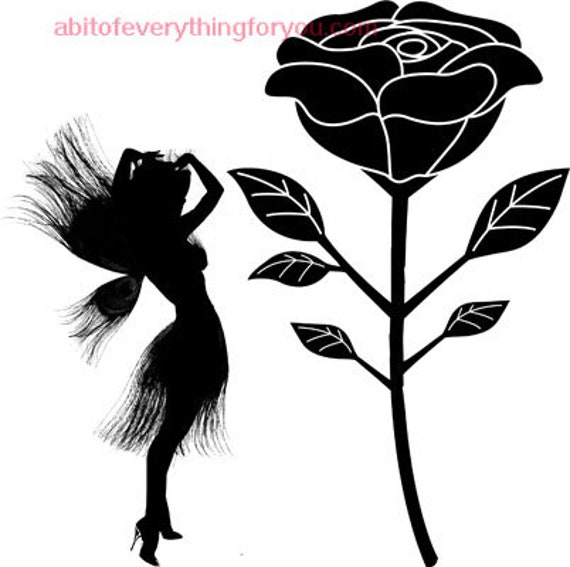 peacock fairy woman silhouette printable art faerie clipart png download digital image graphics downloadable digital stamp