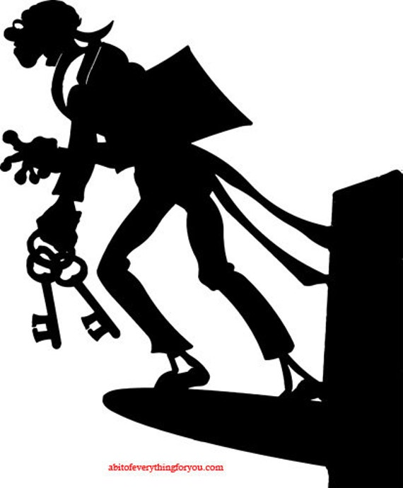key master gate keeper silhouette printable art clipart png download digital image graphics digital stamp downloadable artwork
