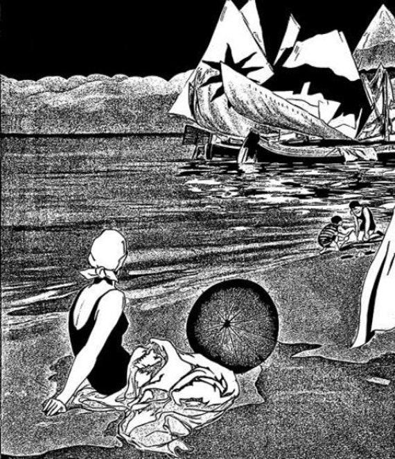 1920s family beach vacation vintage art printable art print png jpg digital download image graphics travel black & white ink deco style art