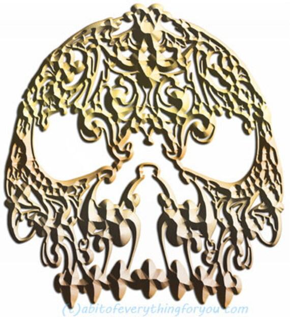 gold skeleton skull filigree mask printable art print png clipart transparent digital download image graphics downloadable masquerade
