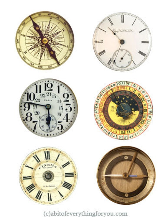 clocks pocket watch compass faces png clipart digital download image graphics die cuts downloadable
