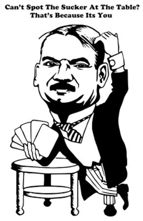 funny quotes cartoon man poker player printable art clipart png svg vector jpg download digital image graphics
