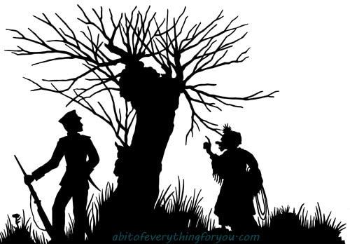 Soldier Old Woman Witch Silhouette Printable Art Clipart Png Download Digital Image Graphics Downloadable Stamp