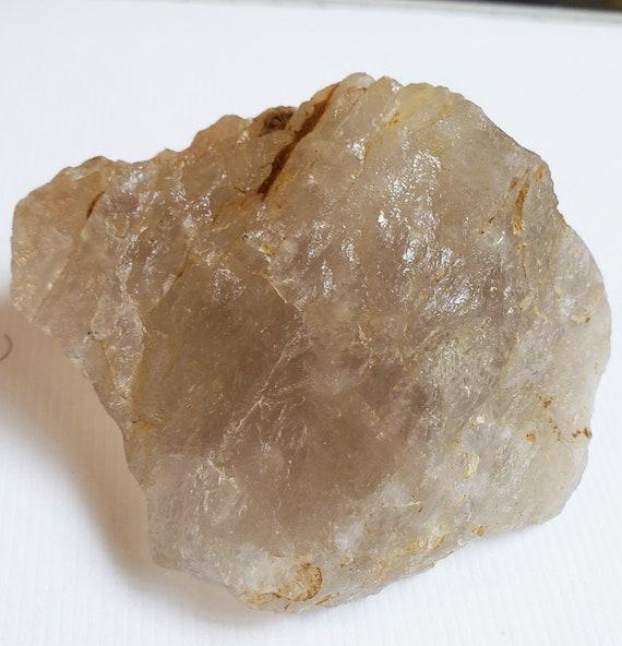 Quartz crystal Rock collecting nugget stone gemstone Montana 7 oz raw quartz minerals healing feng shui fish tank decor