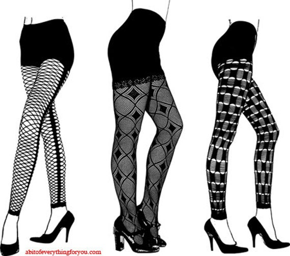womens legs high heels fishnet lace stockings clipart png printable art download digital fashion image graphics black & white artwork