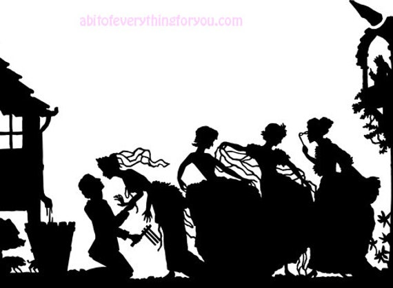 witches dancing silhouette printable art clipart png download digital image graphics downloadable digital stamp fantasy fairytale prints