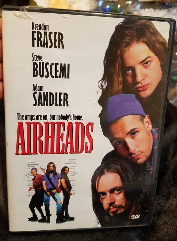 Airheads comedy dvd movie rock music funny Brendan Fraser Adam Sandler
