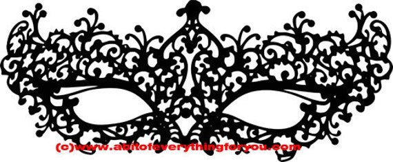 mask silhouette clipart png filigree masquerade mardi gras Digital Download printable art Image graphics masks template digital stamp