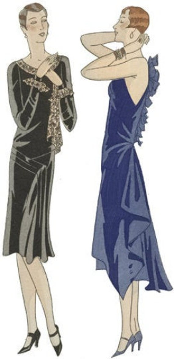 1920s fashion pinup girl flapper girls printable art png jpg clipart dresses digital download image woman graphics downloadable