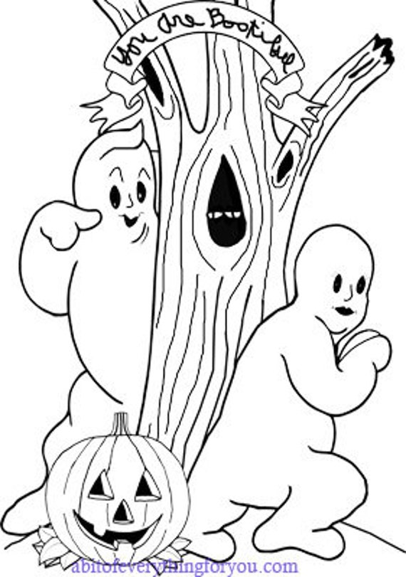 ghost man woman halloween coloring page printable art download digital coloring book pages halloween image graphics love romance