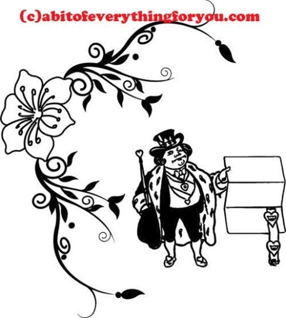 king nursery rhyme art printable print clipart png download digital image graphics digital stamp kids craft downloadable