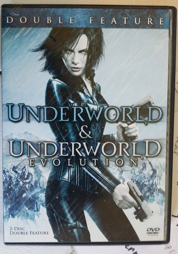 Underworld and Underworld Evolution double feature dvd 2 discs set vampire vs werewolf horror movies