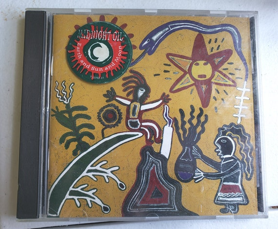 Midnight oil music CD Earth and Sun and Moon vintage 1993