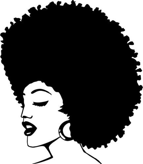 beautiful black african womans face pinup girl printable wall art intant download clipart png afro hair digital image graphics digital stamp