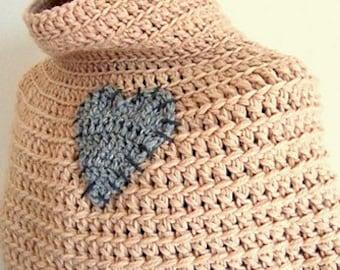 Primitive Cape fast crochet pattern pdf (IT - US EN)
